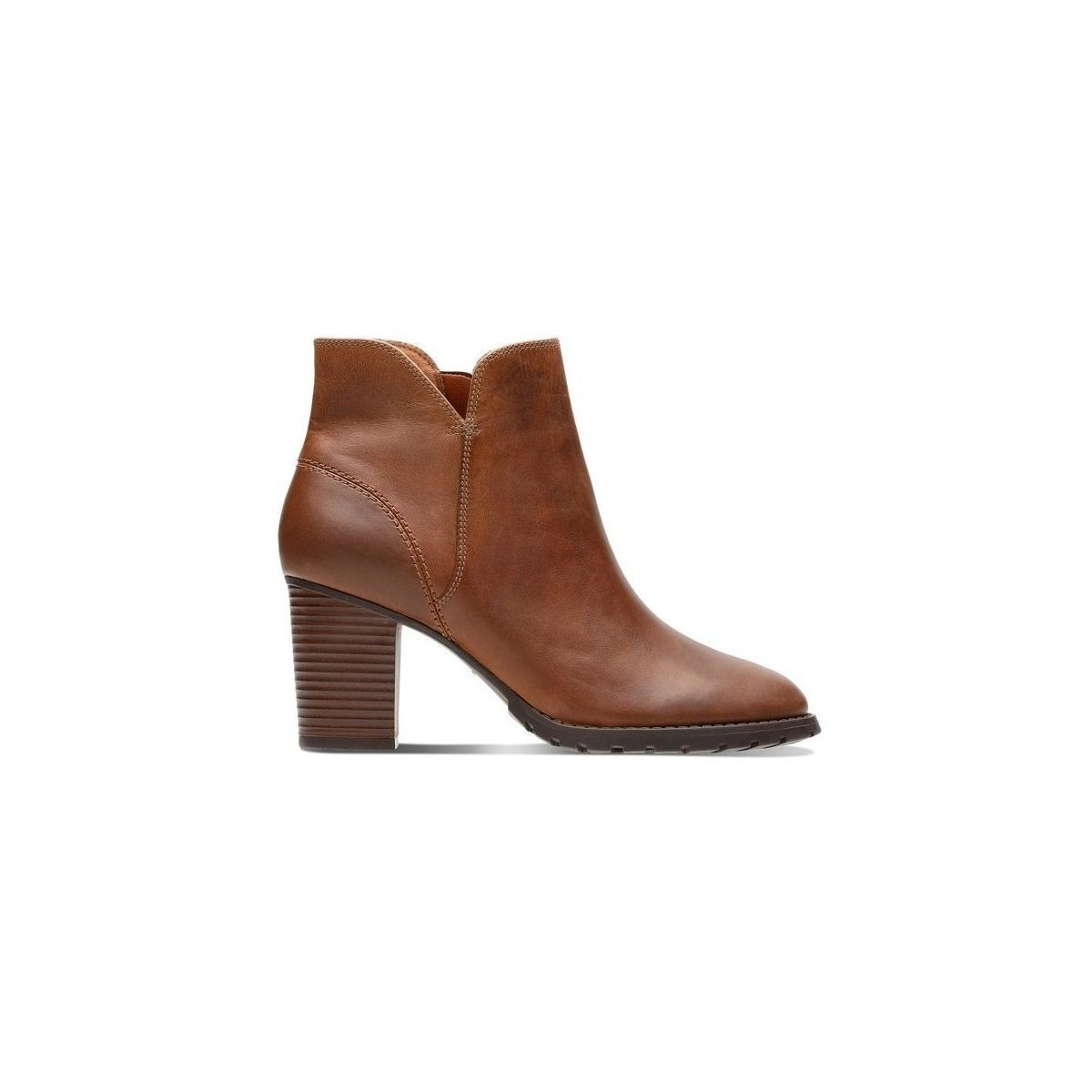 GERALYN VERONA TRISH:TAN/CUIR/TEXTILE/GOMME/Tan