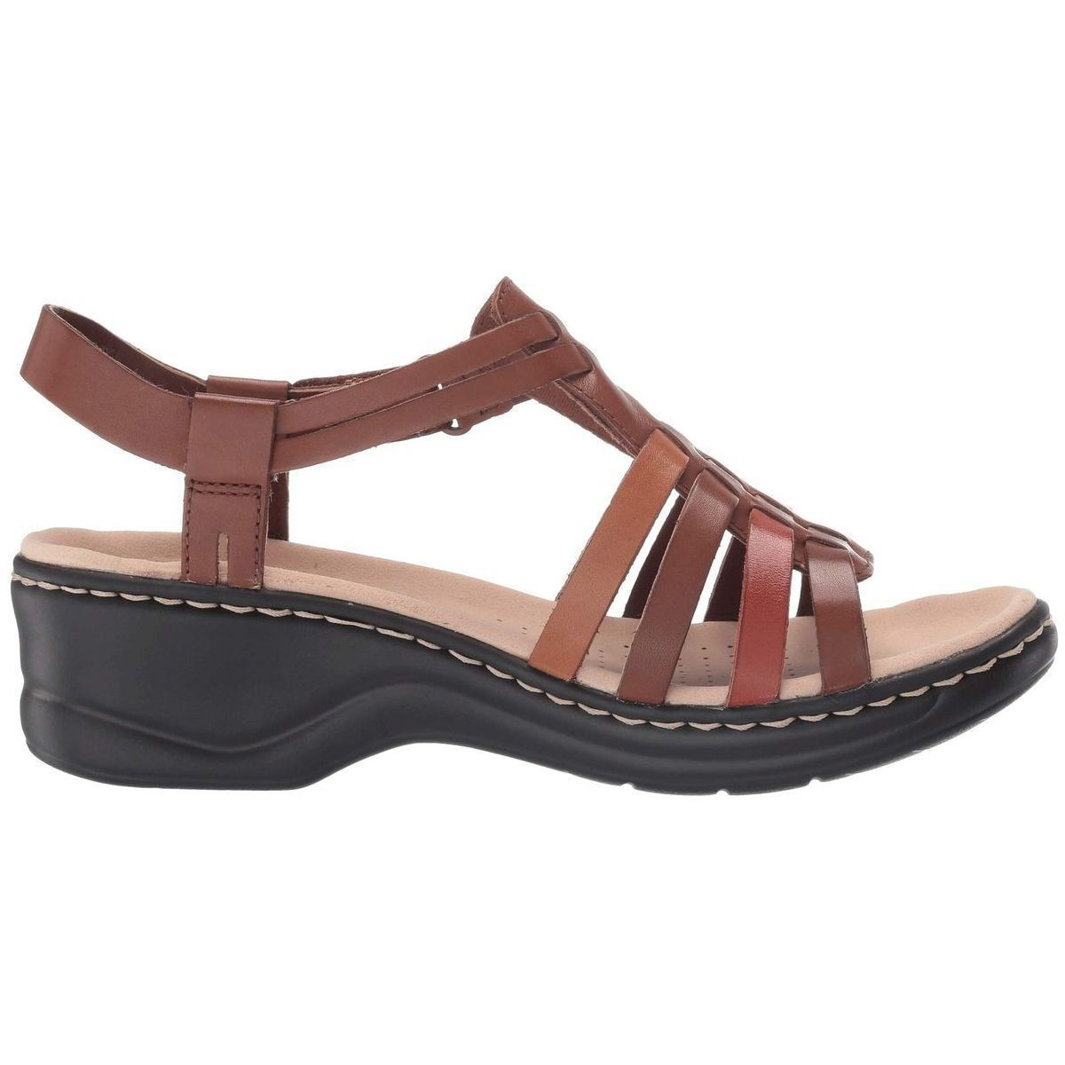 KANON LEXI BRIDGE:MARRON/CUIR/CUIR/CAOUTCHOUC/Tan