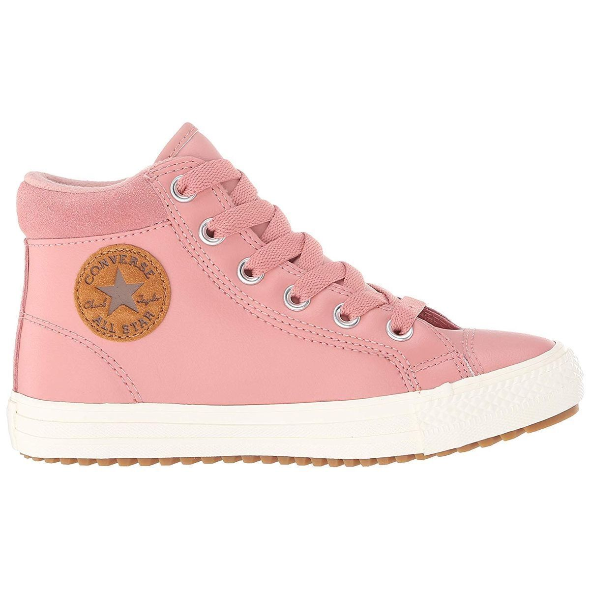 DA.-SNEAKER CHUCK TAYLOR ALL STAR PC BOOT - HI:ROSE/CUIR/TEXTILE/CAOUTCHOUC/Rose