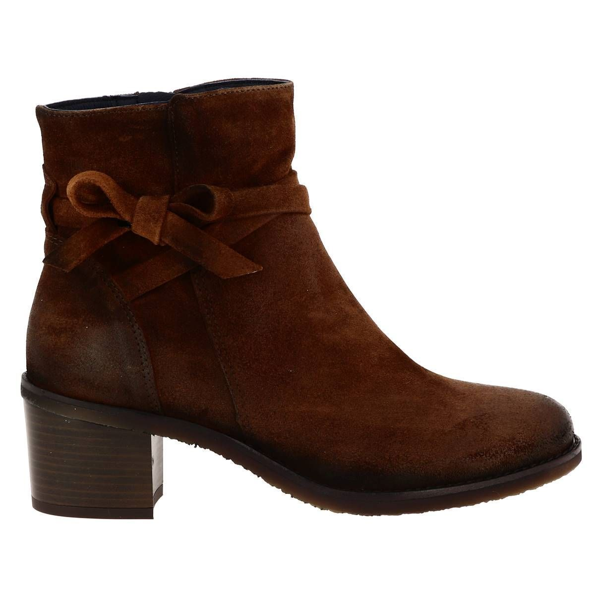 CTAS LIFT OX 7335:MARRON/CUIR/CUIR/SYNTHETIQUE/Marron