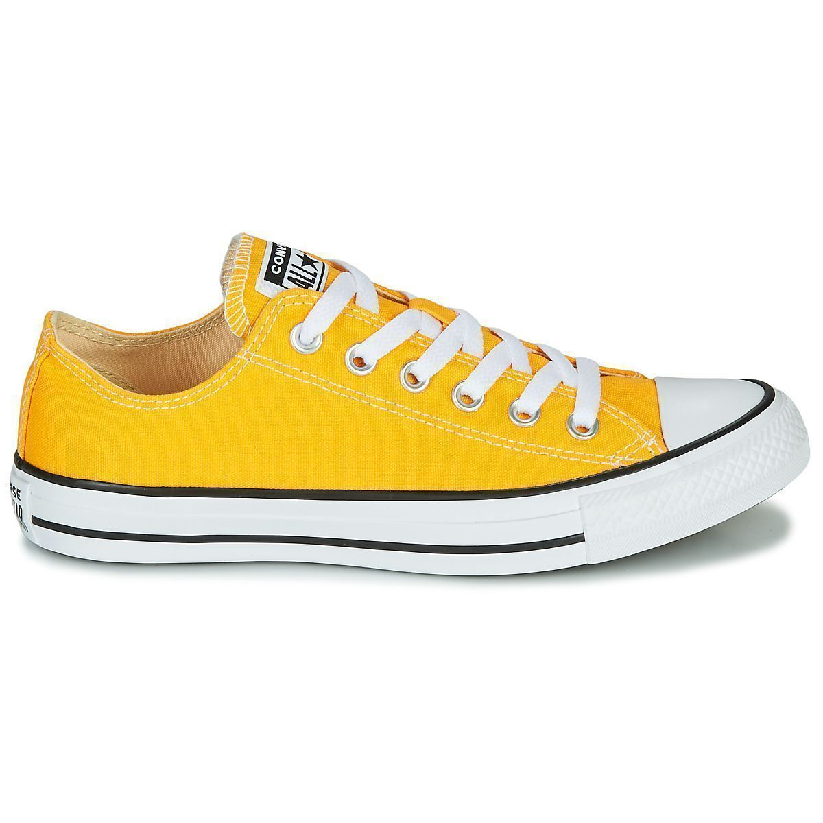 THRILL CTAS ALL STAR OX SEASONAL:JAUNE/TOILE/TOILE/CAOUTCHOUC/Jaune