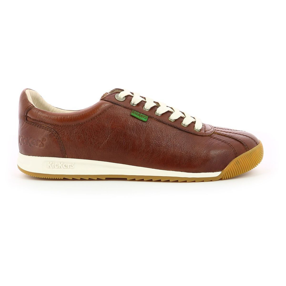 DISRUPTOR LOW WMN KICK 7:MARRON/CUIR/CUIR/CREPE/Marron