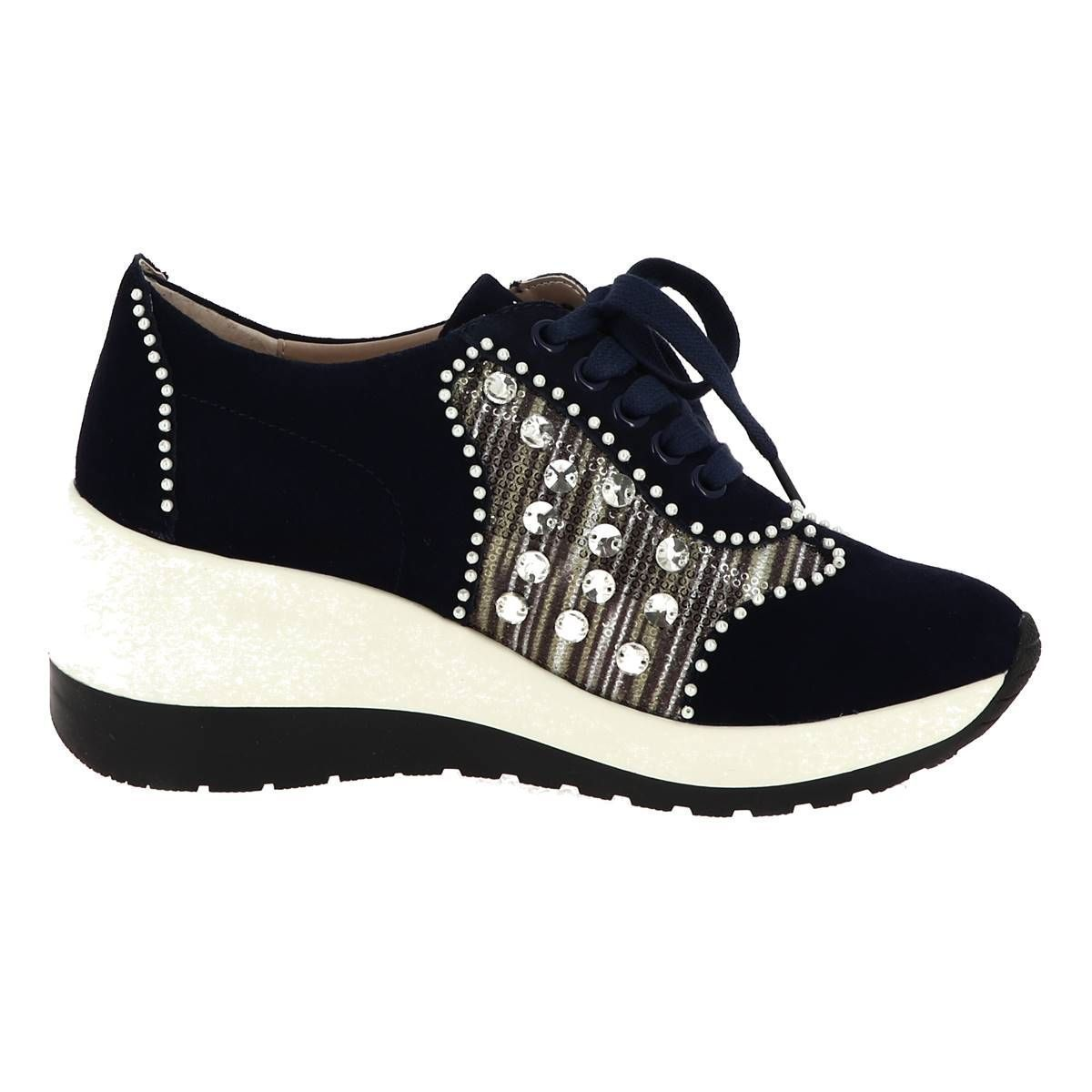 COCRALIEO 17 SHOES_WEDGE_PEARL:ESTADO/CUIR + AUTRES/SYNTHETIQUE/CAOUTCHOUC/Estado