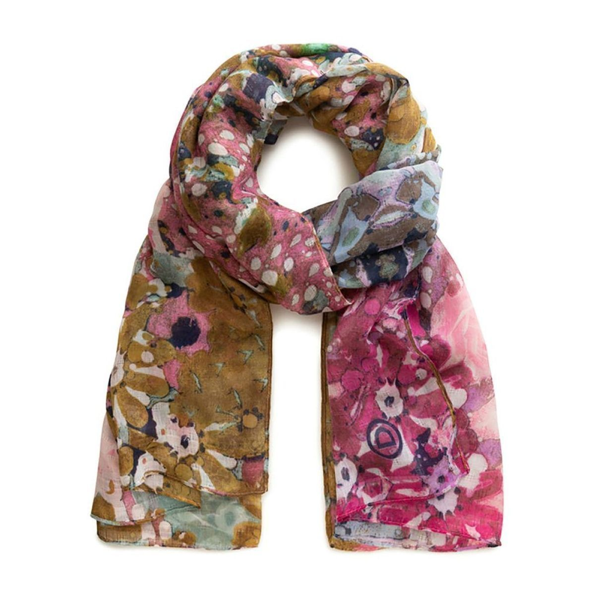 QUESTAR BYD M FOUL_KALEIDOSCOPE:MULTICOLORE/VISCOSE/POLYESTER//Multicolore