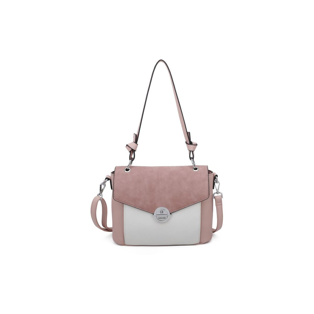 SINCLAIR HEIDI:ROSE/SIMILI CUIR/POLYESTER//Rose