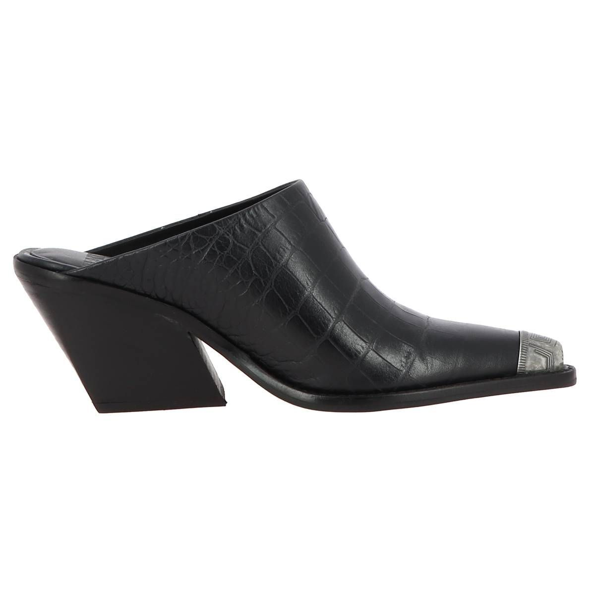 CTAS EVA  LIFT  OX LOW KOLE MULE:NOIR/CUIR/CUIR/SYNTHETIQUE/Noir