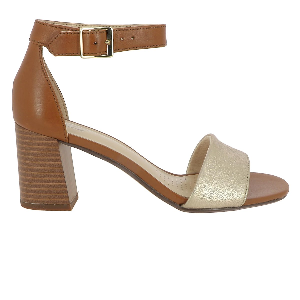 BLESA JOCELYNNE CAM:MARRON/CUIR/CUIR/SYNTHETIQUE/Marron