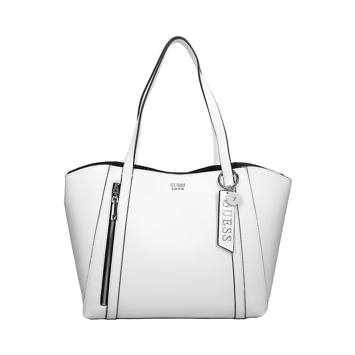 QUESTAR FLOW K NAYA TRAP TOTE:BLANC/SYNTHETIQUE///Blanc