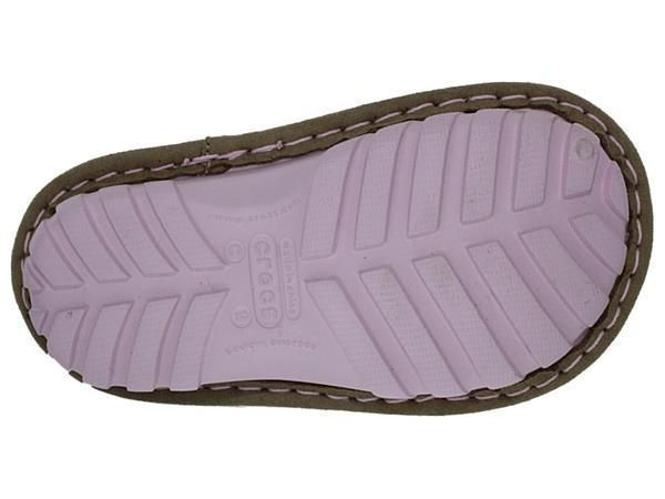 MAYA CROCS, BOTTINES FILLE BEIGE ET ROSE:BRUN/SYNTHETIQUE/FOURRE/AUTRE/Brun