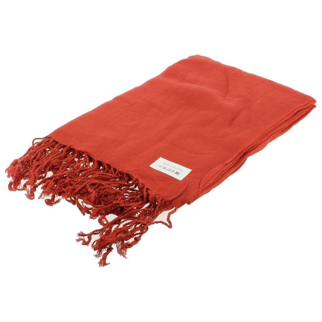 GRAND COURT C PASHMINA:ROUGE/VISCOSE/VISCOSE//Rouge