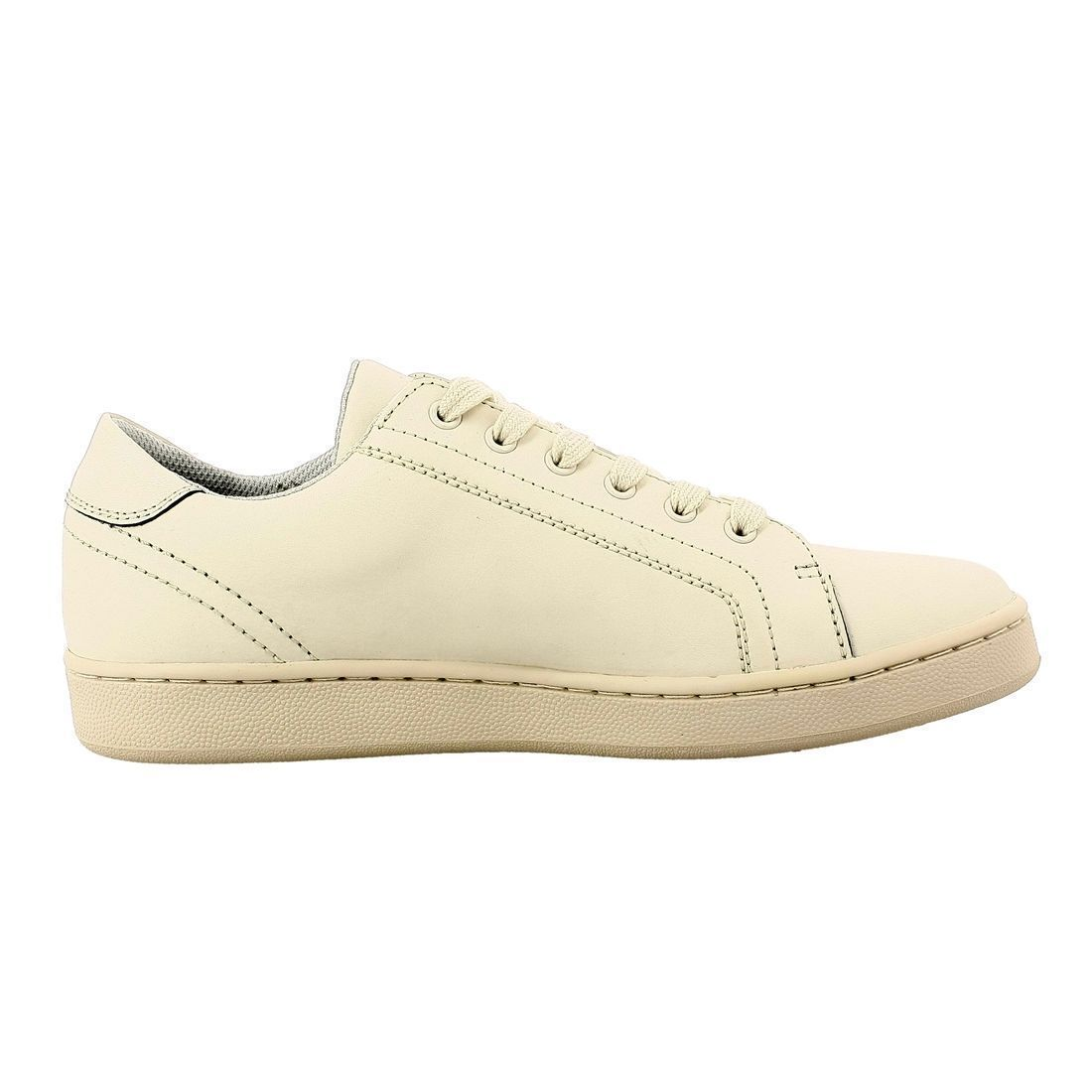 KICK COL FMALL4-LEA12:BEIGE/SIMILI CUIR/TOILE/SYNTHETIQUE/Beige