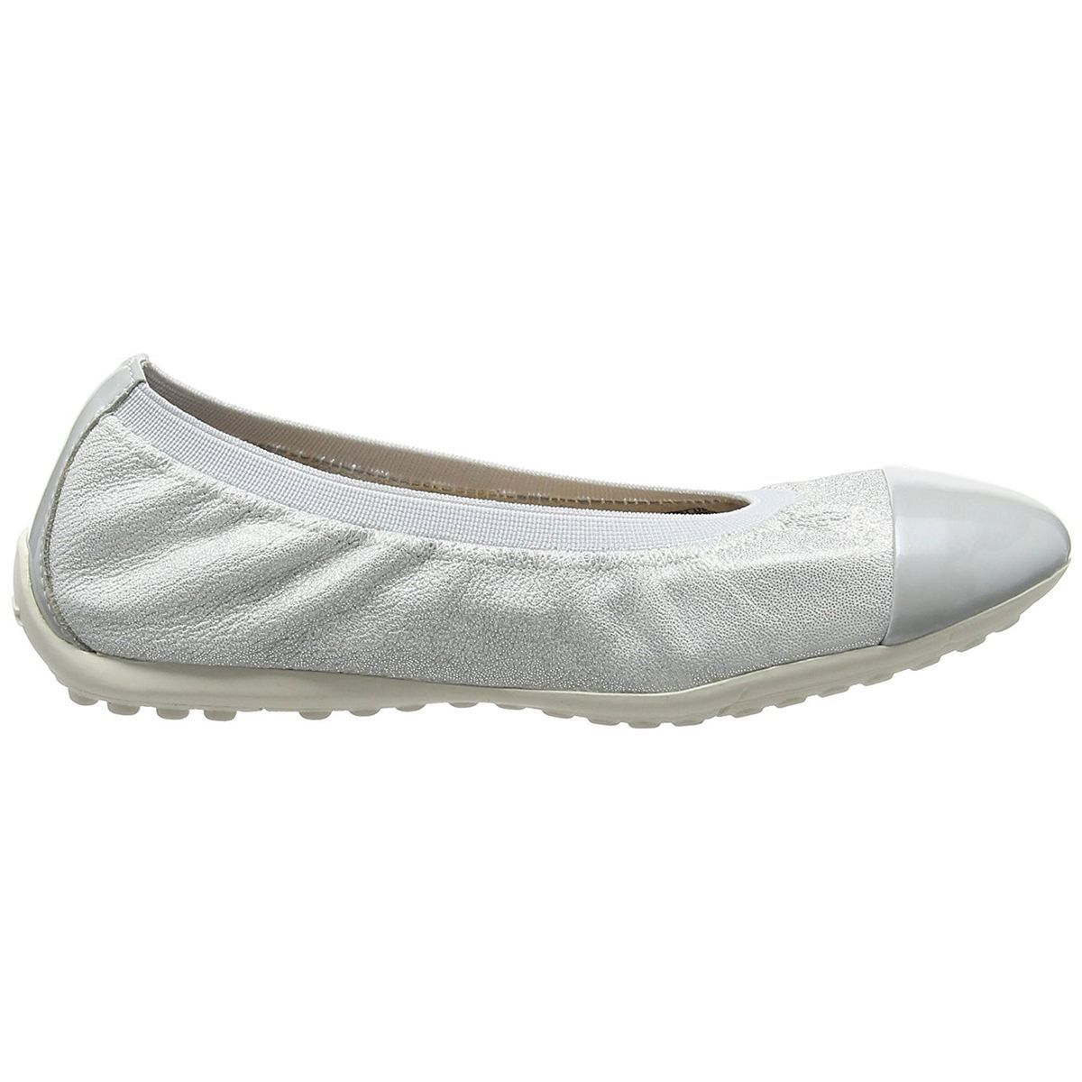 STONE 1 W PIUMA BALLERINE:PEARL/CUIR + SYNTHETIQUE/CUIR + SYNTHETIQUE/SYNTHETIQUE/Pearl