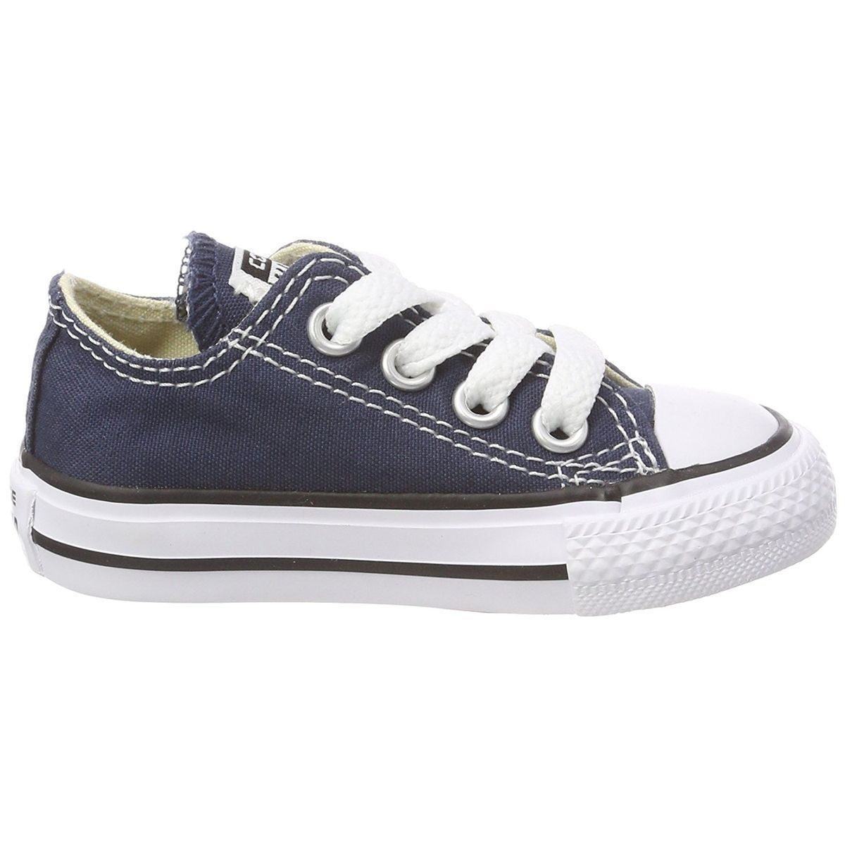 JEXPLORER HIGH CTAS ALL STAR OX:BLEU/TOILE/TOILE/CAOUTCHOUC/Bleu