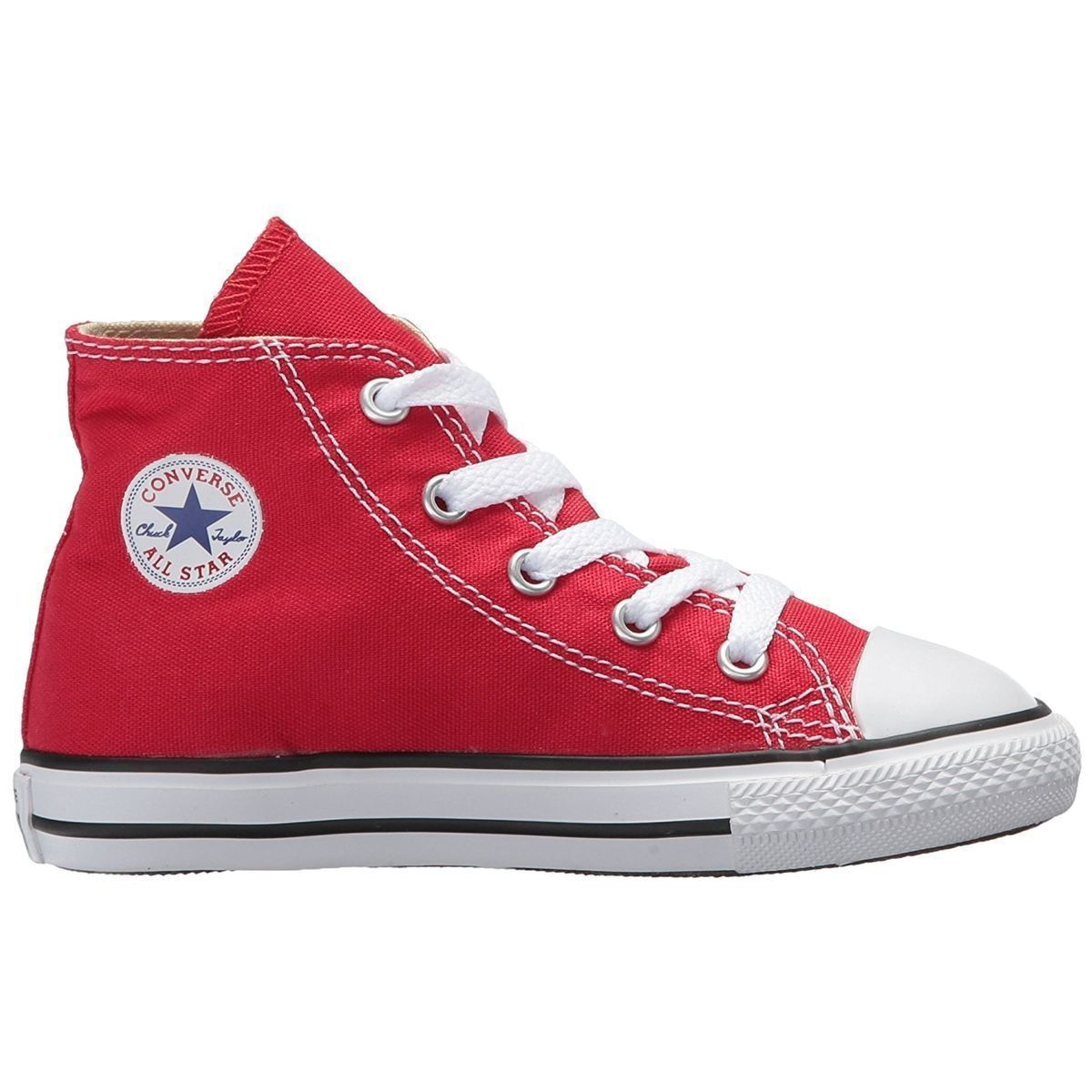 RIÑO_ADA NYON CTAS ALL STAR HI:ROUGE/TOILE/TOILE/CAOUTCHOUC/Rouge