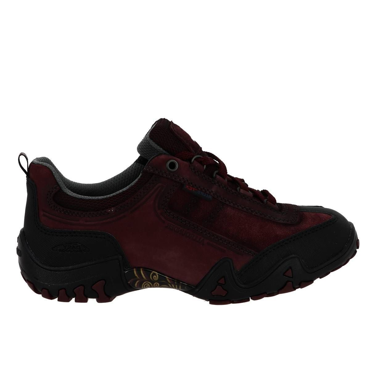 CTAS LUGGED HI FINA - TEX:BORDEAUX/CUIR/GORE-TEX/CAOUTCHOUC/Bordeaux
