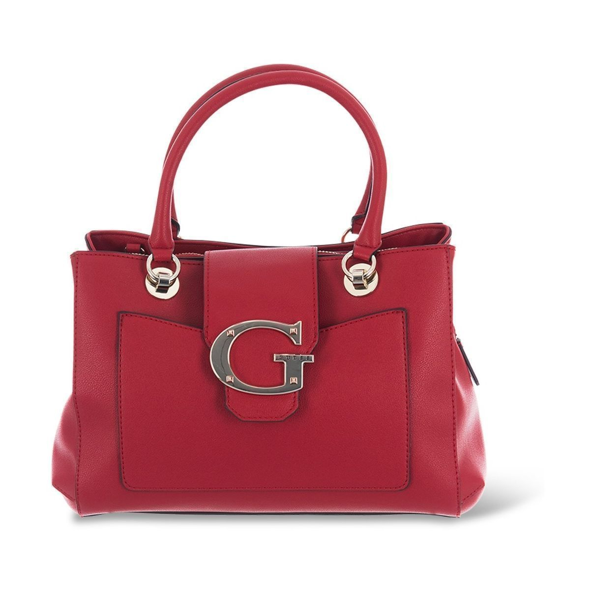 FARTY FUNK CAMILA GIRLFRIEND SATCHEL:ROUGE/POLYURETHANE/POLYESTER//Rouge