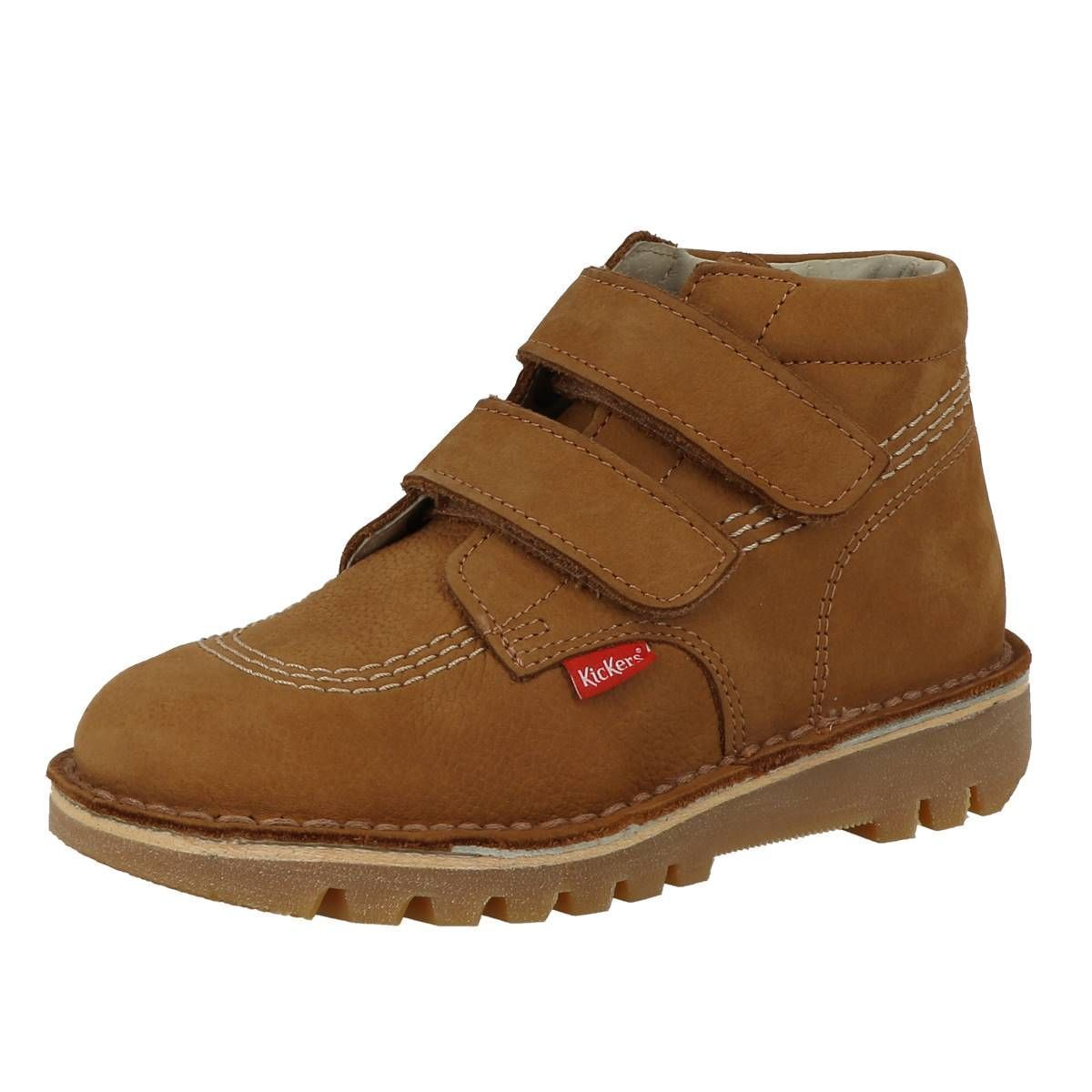 Kickers fille neovelcro camel1157801_2