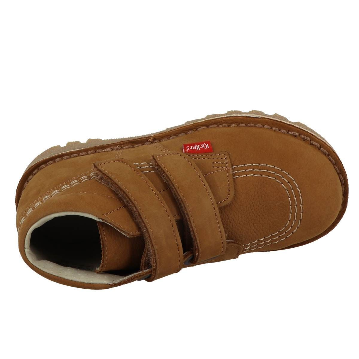 Kickers fille neovelcro camel1157801_6