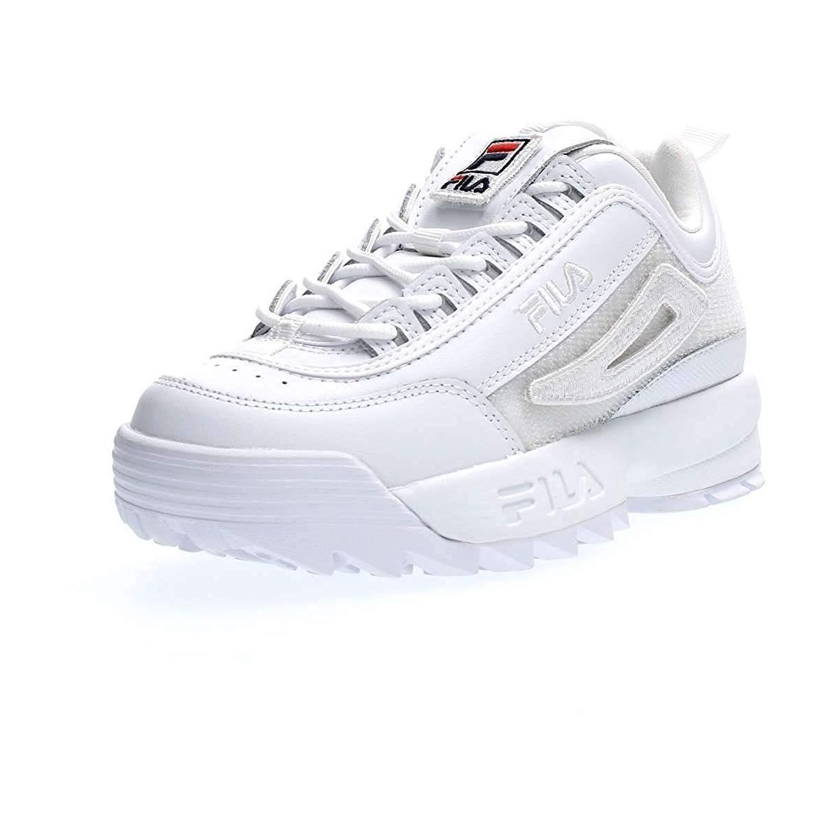 Fila femme disruptor 2 patches blanc1179601_2