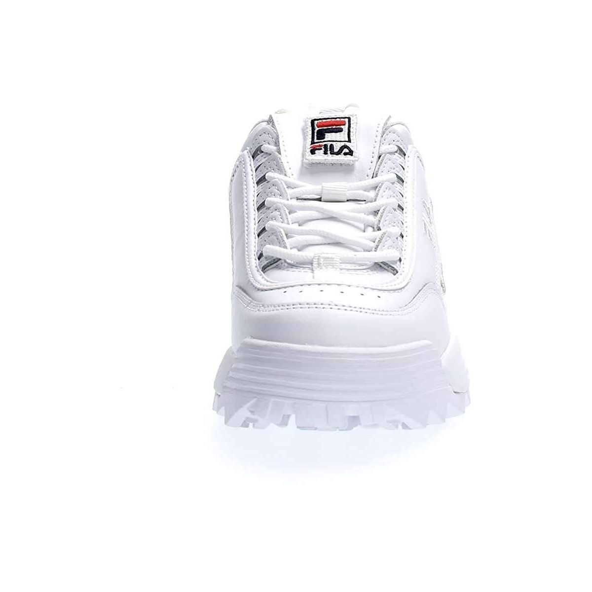 Fila femme disruptor 2 patches blanc1179601_3