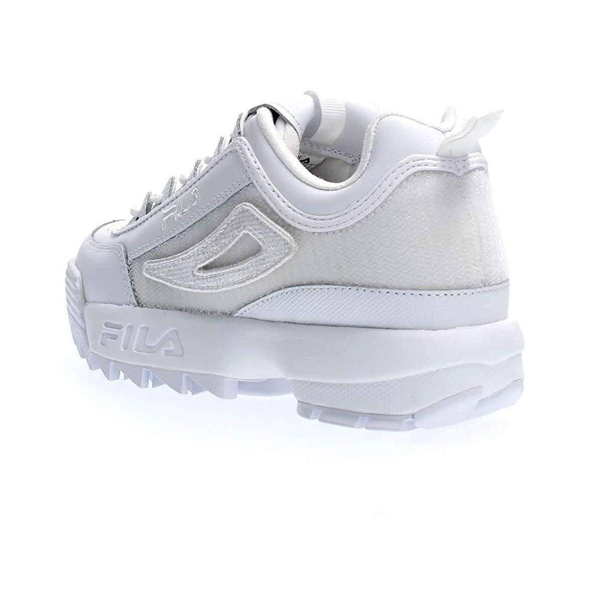Fila femme disruptor 2 patches blanc1179601_5