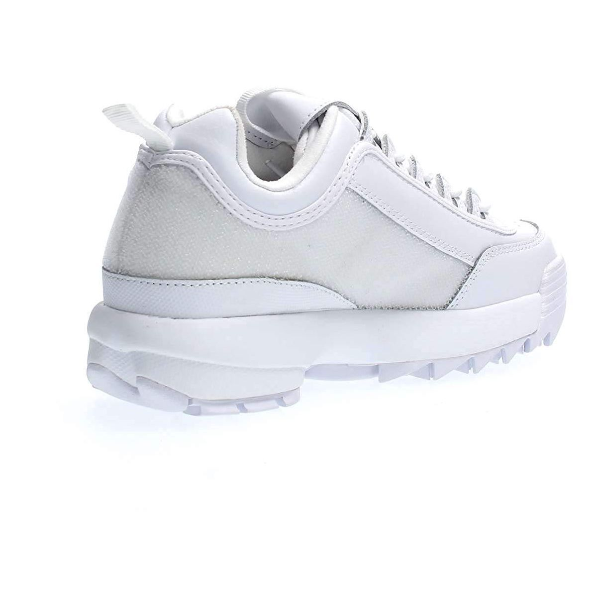Fila femme disruptor 2 patches blanc1179601_6