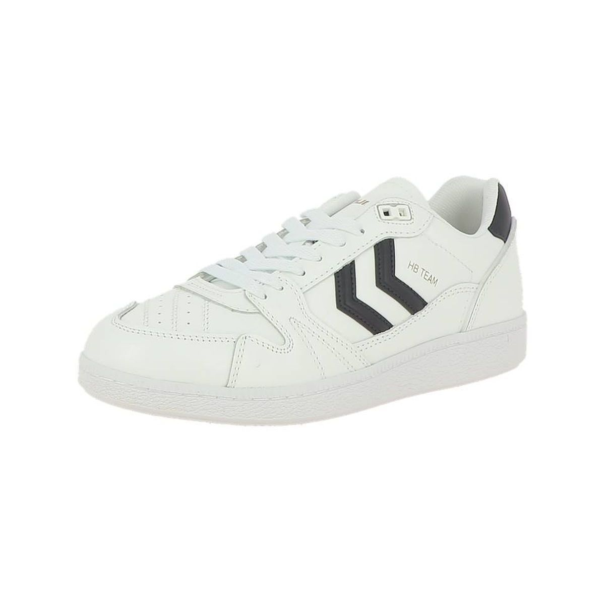 Hummel homme hb team leather blanc1284101_2