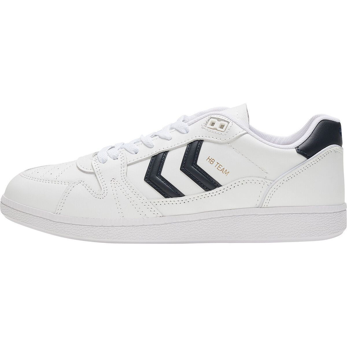 Hummel homme hb team leather blanc1284101_3