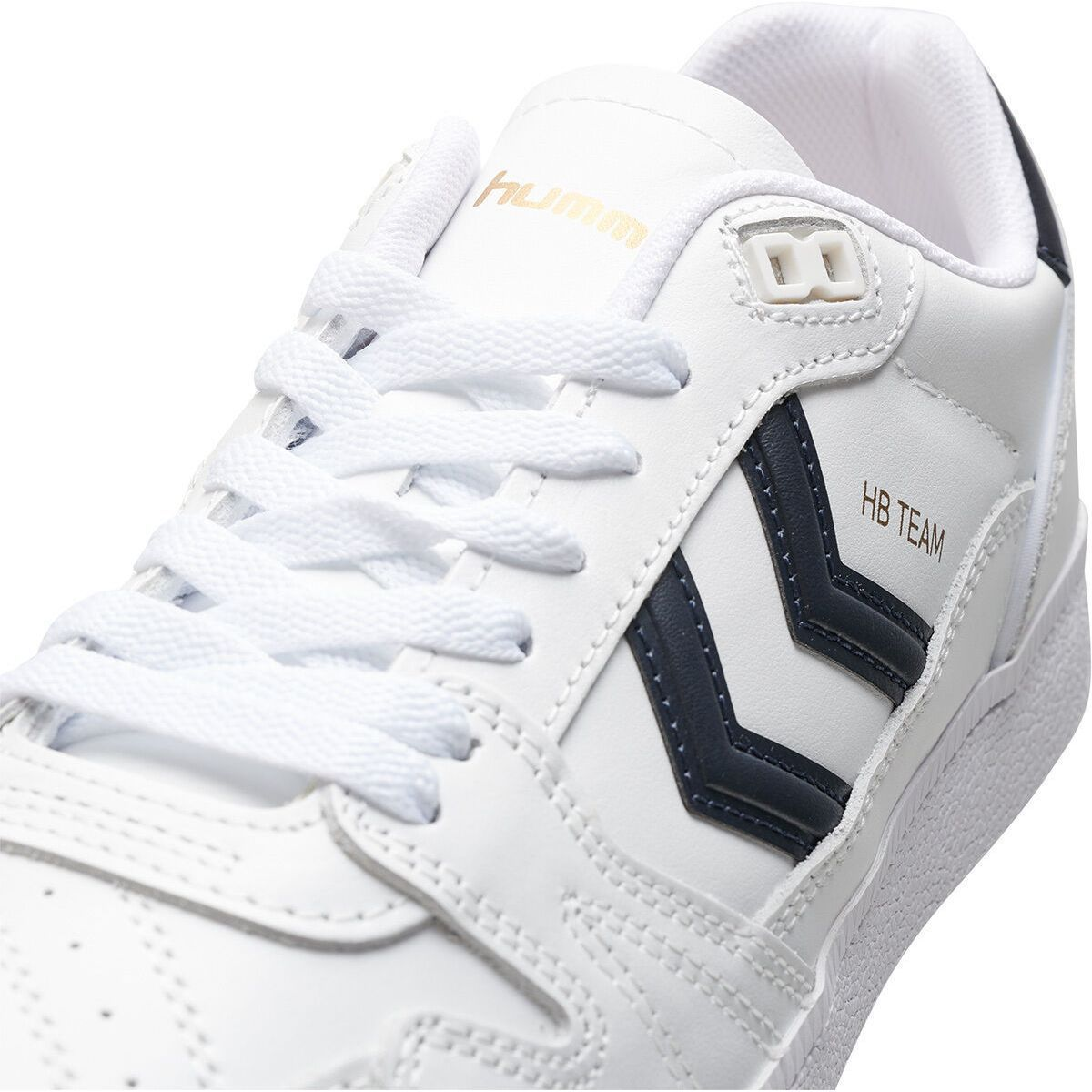 Hummel homme hb team leather blanc1284101_4