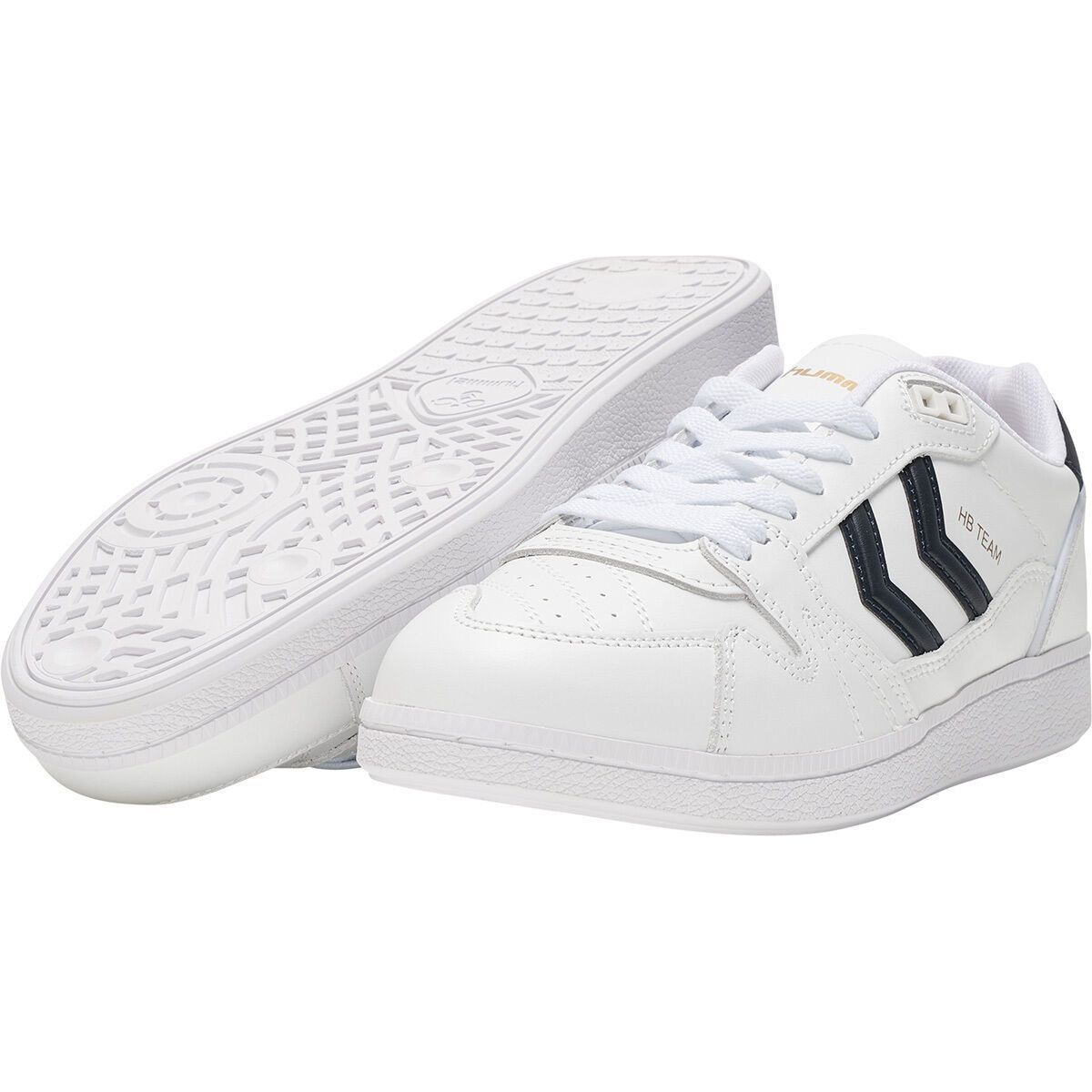 Hummel homme hb team leather blanc1284101_5