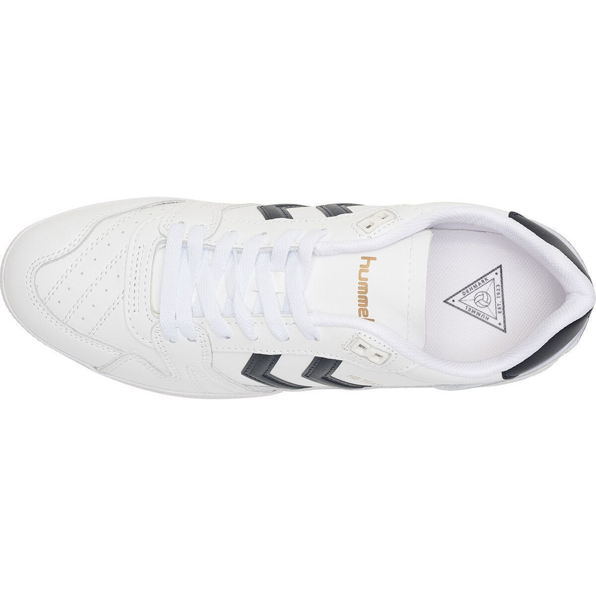 Hummel homme hb team leather blanc1284101_6