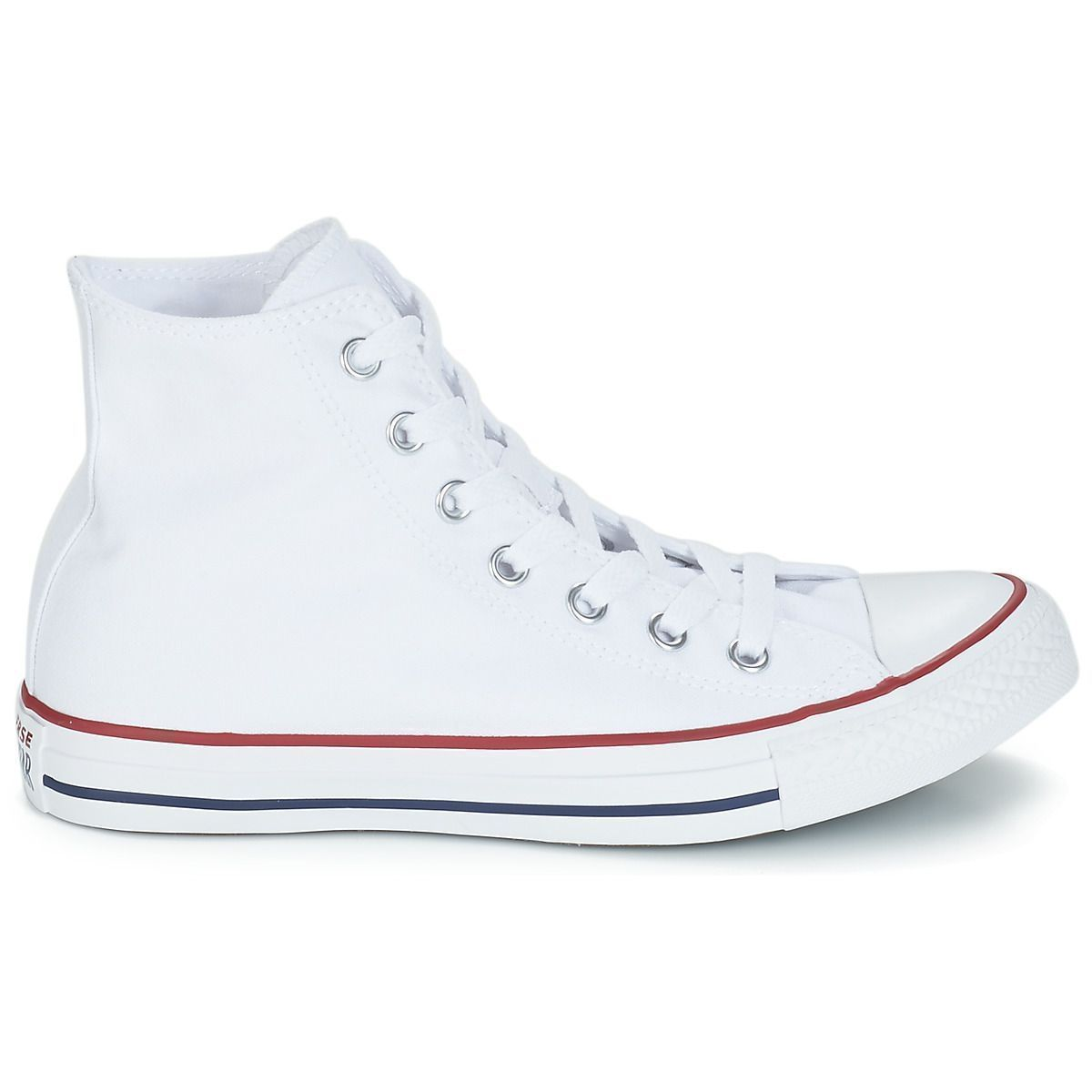 Converse fille ctas all star hi blanc