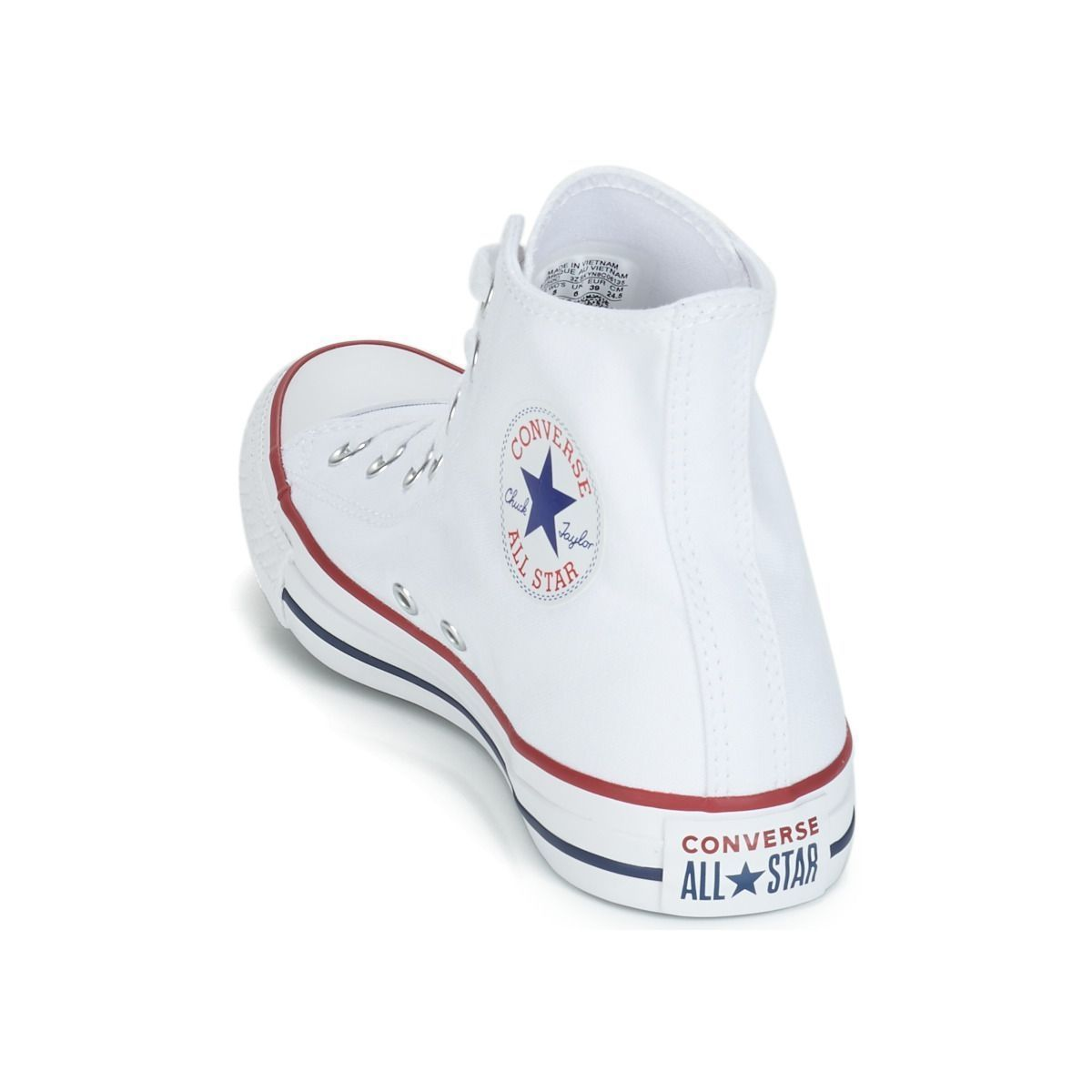 Converse fille ctas all star hi blanc1629802_5