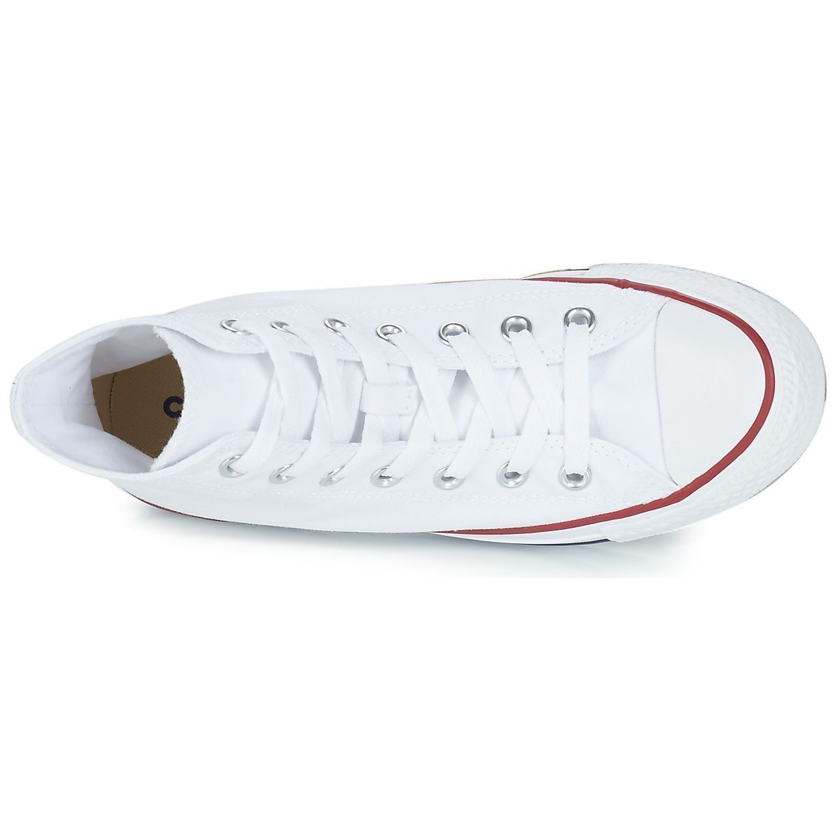 Converse fille ctas all star hi blanc1629802_6