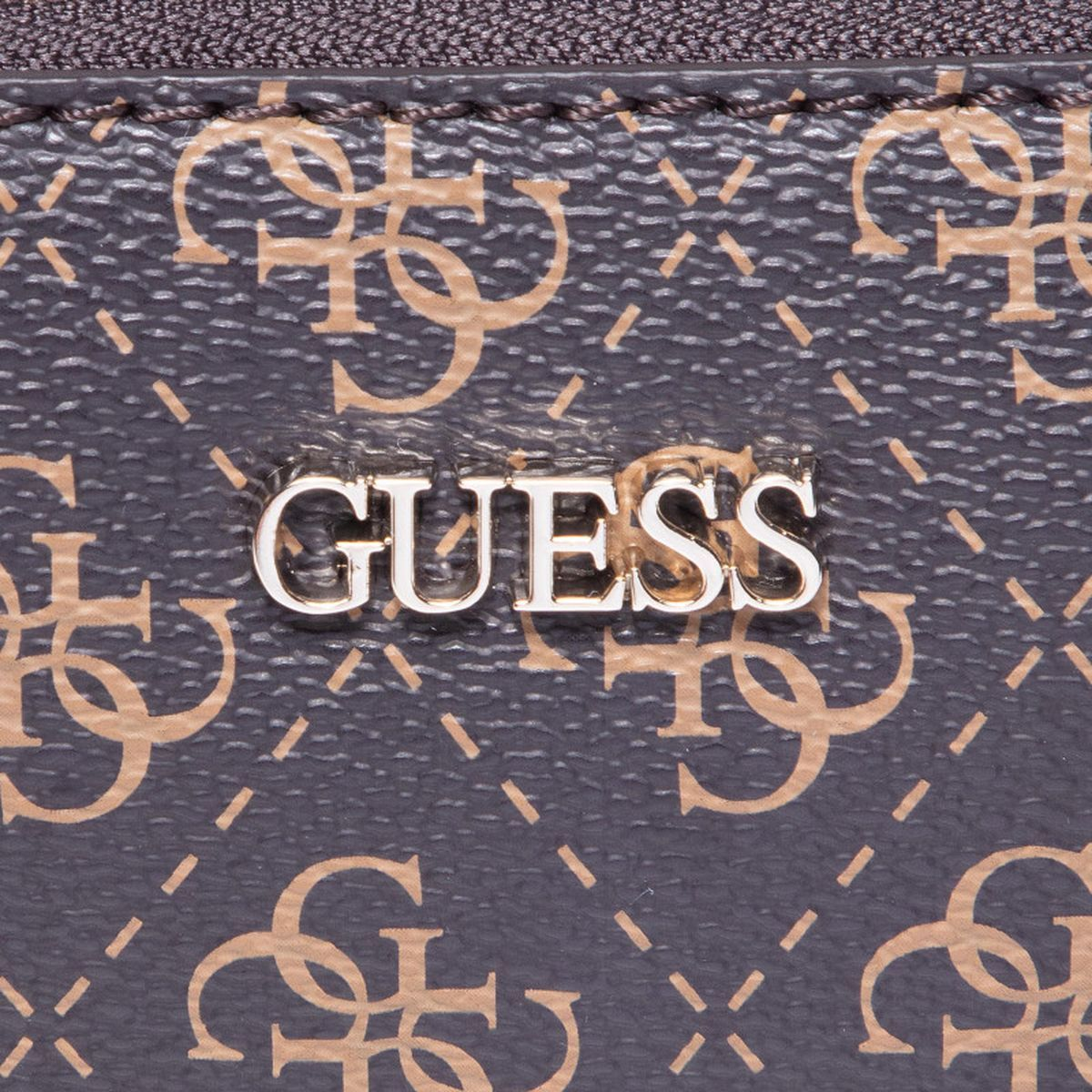 Guess femme arie double pouch crossbody marron1748201_3